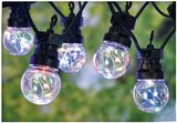 Feestverlichting 10 multicolor-lamps - 50 LED's - 5cm _