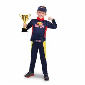 Formule 1 Race Outfit Max met Pet Maat 134-152
